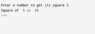 Python Calculate Square